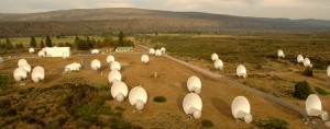 Allen Telescope Array - Photo credit: SETI Institute