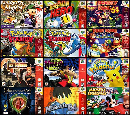 N64 Games Not Yet Available on Nintendo's Virtual Console, Group 1