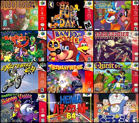 N64 Titles not yet available on the N.A. Virtual Console, Group 2
